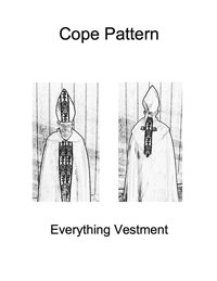 Cope Vestment Pattern